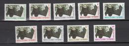 New Caledonia 1983,9V,set,flying Dogs, Bats,vleermuizen,fledermäuse,chauves-souris,murciélagos,MNH/Postfris(A3230) - Vleermuizen