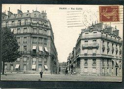 CPA - PARIS - Rue Galilée, Animé - Arrondissement: 08