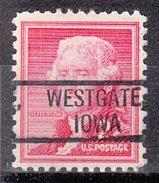 USA Precancel Vorausentwertung Preos Locals Iowa, Westgate 802