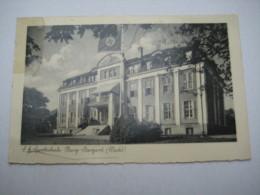 STARGARD , SA Sportschule      , Schöne Karte Um 1934 ,  , Vorderseitiger Wasserfleck