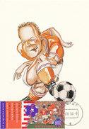 D29833 CARTE MAXIMUM CARD RR FD 1994 NETHERLANDS - SOCCER PLAYER RONALD KOEMAN CP ORIGINAL - World Cup