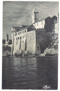 Cpa Carte-photo Croatie - Rab ( église / Fortifications ) - Croatie