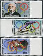 Djibouti 1987. Michel #495/97 MNH/Luxe. Pre-Olympic Year. (Ts10)