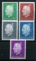 MONACO (  POSTE  ) : Y&T  N°  1209/1213  TIMBRES   NEUFS   SANS  TRACE  DE  CHARNIERE , A  VOIR . - Monaco