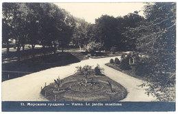 Cpa Bulgarie - Varna - Le Jardin Maritime - Bulgaria