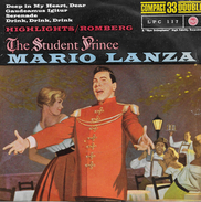 Mario Lanza 33t 17cm EP ESPAGNE *the Student Prince* - Musicals