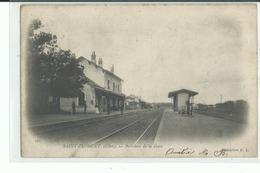 18 SAINT FLORENT Intérieur De La Gare - Saint-Florent-sur-Cher