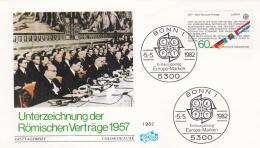 Germany 1982 FDC Europa CEPT (T12-33) - Europa-CEPT