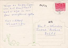 Ansicht 19 Ndec 1984 Vlaardingen (stempeltype Openbalk) - Postal History