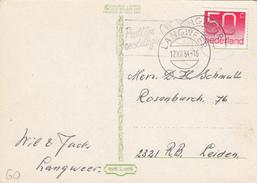 Ansicht 12 Dec 1984 Langweer (stempeltype Openbalk) - Postal History