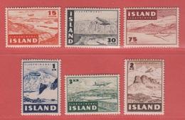 1947 ** (sans Charn., MNH, Postfrish)  Yv  PA 21/6Mi  241/6FA  274/9 - Ungebraucht