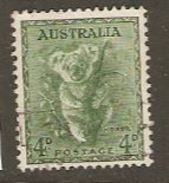 Australia 1937 SG 188 Fine Used - 1937-52 George VI