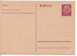 3446/ Deutsches Reich Ganzsache P 227 Ungebraucht/ * - Ganzsachen