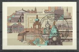 """DDR Bl.55 """" Briefmarkenausstellung DDR'79""""  Sonderstempel.Mi 2,20 - Blocs"""