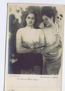 P. GAUGUIN - LES SEINS AUX FLEURS ROUGES - NU - NAKED - PHOTO-PROCEDE E. DRUET - SERIE 12033 /  N. 9019 ( 15 ) - Peintures & Tableaux