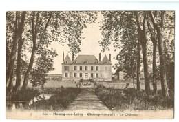 15717    Cpa  MEUNG SUR LOIRE  : CHAMPREMAULT ; Le Château - Autres Communes