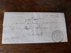 Lot Du 21.04.2017_ , LAC De Ceyzeriat (4) Pour Louvesque !,texte!! De 1855, - Postmark Collection (Covers)