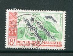 MADAGASCAR- Y&T N°348- Oblitéré (plantes) - Ohne Zuordnung