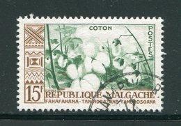 MADAGASCAR- Y&T N°350- Oblitéré (plantes) - Végétaux