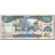 Somaliland, 500 Shillings = 500 Shilin, 2011, 2011, KM:6h, NEUF - Somalie