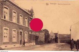 THIMISTER  Cachet Postal Thimister Clermont 1928 - Thimister-Clermont