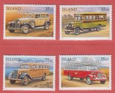 1996 ** Islande  (sans Charn., MNH, Postfrish)  Yv  803/6Mi  846/9 - 1944-... Republik