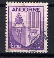 ANDORRE - 93° - ARMOIRIES DES VALLEES