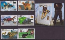 2015.132 CUBA 2015 MNH+HF. COMPLETE SET. PERROS. DOGS. COCKEL SPANIEL PASTOR ALEMAN  RETRIEVER - Cuba