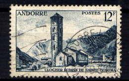 ANDORRE - 145° - CLOCHER DE SAINTE COLOMA