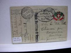 FRANCHIGIA  MILITARE   1° GUERRA  -- OSPEDALE MILITARE DI RISERVA DI  MESTRE - Guerra 1914-18