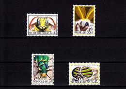 BELGIQUE - BELGIUM - BELGIË - 1971 - */MLH - INSECTS , OLYMPICS MUNICH - Mi 1663/6, 1642   Yv 1610/3, 1590 - Unused Stamps