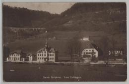 Saint Sulpice - Les Colleges (NE) - Photo: Perrochet - NE Neuchâtel