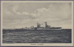 Leichter Kreuzer Leipzig Der Kriegsmarine Uber 1939y.   D617 - Warships