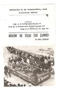 Calendrier Petit Format 18 MEHUN Sur YEVRE 1969 Cavalcade Char De La St Hubert ( Chiens Chevaux ) Aanimation - Calendars