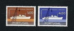 PORTUGAL 1958 - 2° Congresso Nazionale Della Marina Mercantile - 2v - MNH - Yv:PT 851-52 - 1910 - ... Repubblica