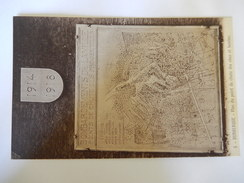DUNKERQUE - PLAN DU POINT DE CHUTE DES OBUS ET BOMBES -   R99 - Dunkerque