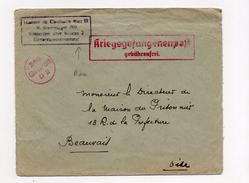 "!!! RARE CACHET ""HOMME DE CONFIANCE BLOC III  M. STAMMLAGER 369 KOBIERZYN UBER KRAKAU 2, GENERALGOUVERNEMENT"" - Guerre De 1939-45"