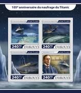 Djibouti. 2017 Titanic. (219a) - Schiffe