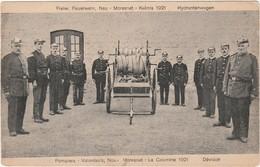 MORESNET KELMIS 1921 LA CALAMINE Pompiers Freiw. Dévidoir. Postée (manque Le Timbre) Voir Les 2 Scan.