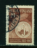 FINLAND  -  1947  Savings Bank  10m  Used As Scan - Used Stamps