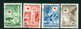 FINLAND  -  1949  Red Cross  Set  Used As Scan - Used Stamps