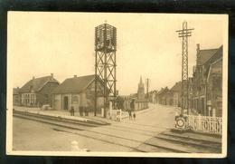 Langemarck ( Langemark)  :  Statie - Station - Gare - Passage à Niveau - Langemark-Pölkapelle