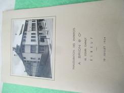 Menu / Inauguration Des Entrepôts BRION & Cie/ELBEUF/Hotel Du Progrès/ Brulé Traiteur /10 Juillet 1954           MENU183 - Menus