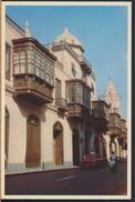 °°° 3736 - PERU - LIMA - BALCONES COLONIALES DE LA CASA DE OQUENDO °°° - Perù
