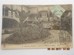 CPA 95 ENGHIEN Les BAINS - établissement Thermal  - Le Hall  1905 - Enghien Les Bains
