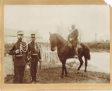 GEMMENICH (probablement)GENDARMERIE RIJKSWACHT Gendarme Rijkswachter Foto 17 Cm Op 13 Cm
