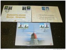 BELG.2002 3088 HK & HK 3091 & HK 3093 - Cartes Souvenir