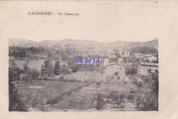 CPA De  GAGNIERES (30) - VUE GENERALE - - Other Municipalities