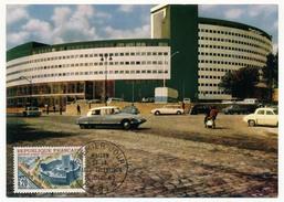 FRANCE => Carte Maximum => 0,20 Maison De La Radio - Télévision - 1963 - Paris - Cartes-Maximum