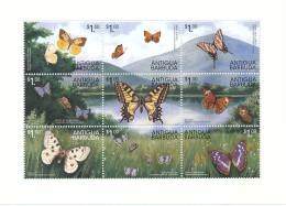 Antigua Barbuda  - Bloc Papillon - ** / MNH - Butterflies
